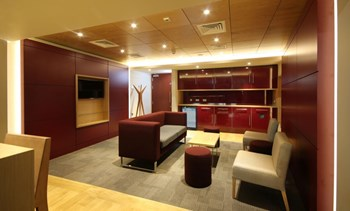 First Direct Arena hospitality box furniture