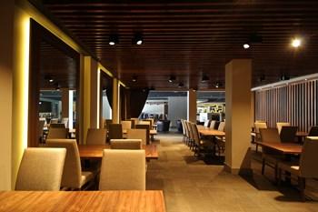 First Direct Arena restaurant furniture