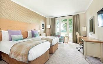 Belfry twin bedroom interior