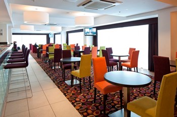 Hotel dining chairs and tables