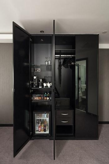 Hotel wardrobe inserts