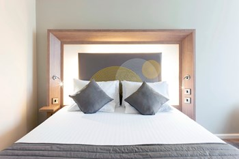 Headboard Hotel Bedroom