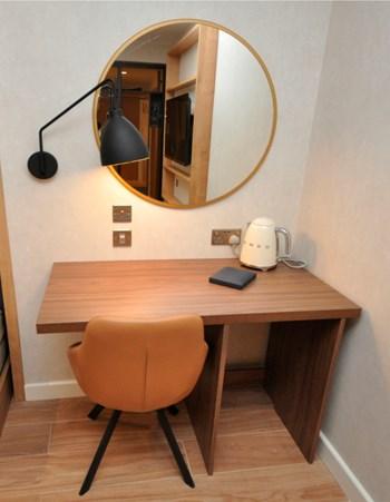 Hilton Garden Inn desk by Curtis