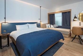 Hilton Garden Inn bedroom sample room