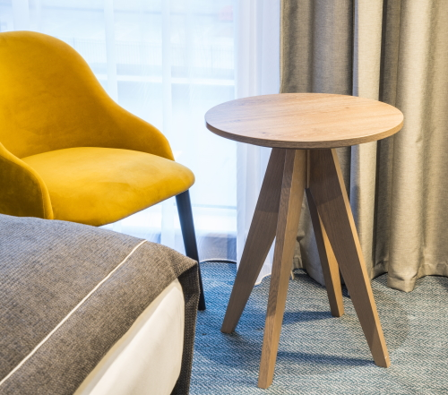 Round breakfast table by Curtis Furniture