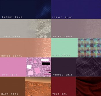 2016 interior design colour palette for hospitality