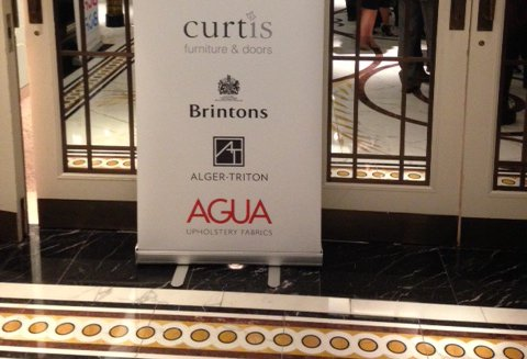 Sponsors of the BCFA Luncheon for the hospitality interiors industry