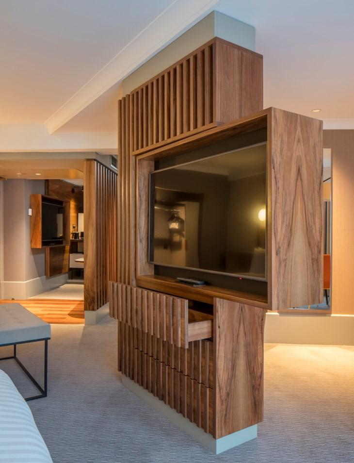 Marriott Kensington bedroom refurbishment