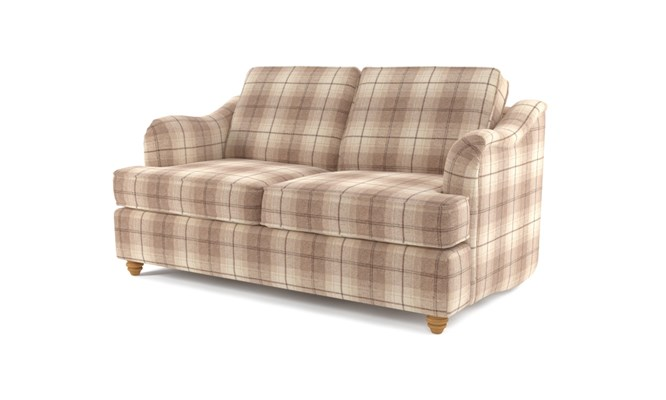 Chesterton 2 seater plain back - Highland cream