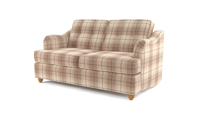 Chesterton 2 seater button back - Highland cream