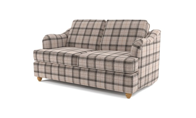 Chesterton 2 seater button back - Highland grey