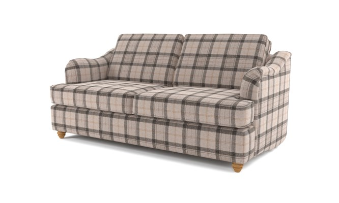 Chesterton 3 seater button back - Highland grey