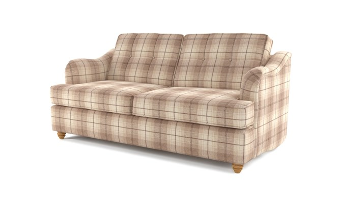 Chesterton 3 seater button back - Highland cream