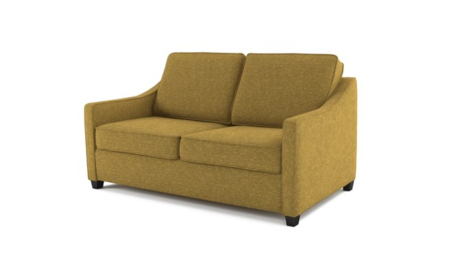 Lynton 2 seater plain back - lime