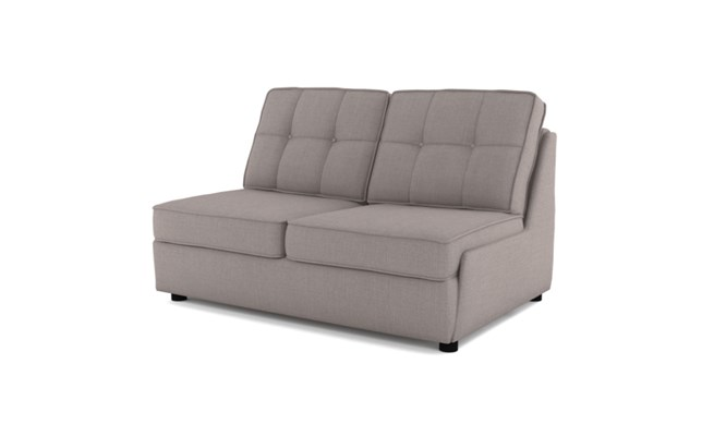 Rockmere 2 seater button back - slate