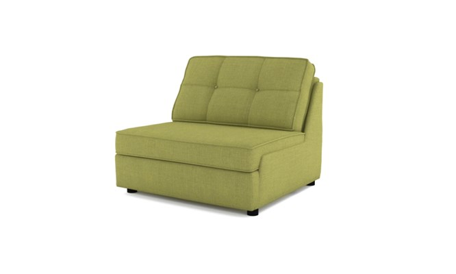 Rockmere chair bed button back - lime