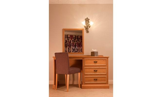 Keats dressing table in situ