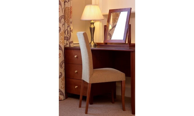 Bronte dressing table in situ