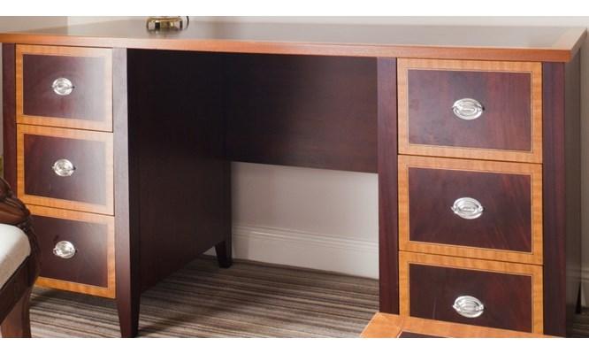 Bespoke dual-finish dressing table