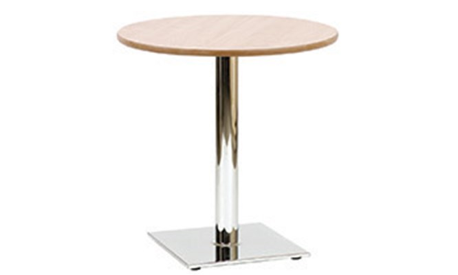 Table B - square chrome base