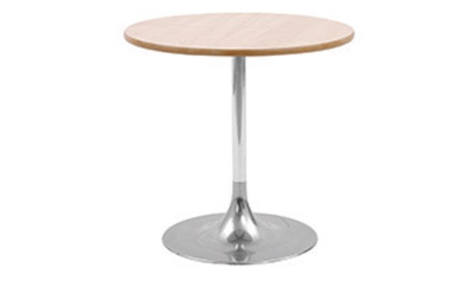 Table H - trumpeted chrome base
