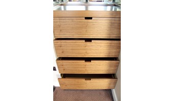 Bespoke fitted chest of drawers