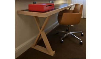 Bespoke bedroom desk