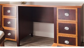 Bespoke dual-finish dressing table
