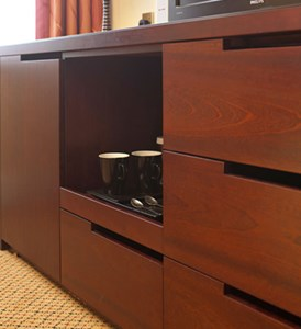Bespoke hotel bedroom cabinet